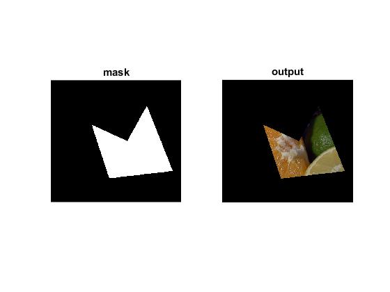 Interactive Mask demo